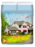 Philadelphia House Duvet Cover
