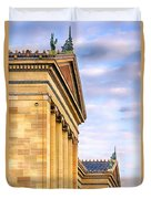 Philadelphia Museum Of Art Facade Duvet Cover