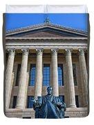 Philadelphia Museum Of Art John Marshall Chief Justice Of The Us  Duvet Cover