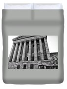 Philadelphia Museum Of Art - West Entrance Duvet Cover