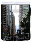 Philadelphia Street Canyon Duvet Cover