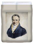 Philippe Pinel (1745-1826) Duvet Cover