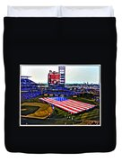 Phillies American Duvet Cover by Alice Gipson