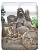Phillies Sandsculpture Duvet Cover