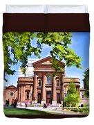 Philly Church View Duvet Cover