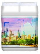 Philly Colours Duvet Cover