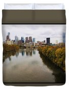 Philly Fall River View Duvet Cover