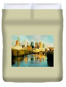 Philly Gleamin Duvet Cover