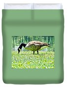 Philly Goose In The Grass Duvet Cover