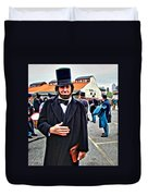 Philly Lincoln Duvet Cover