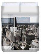 Philly Squared Duvet Cover