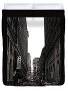 Philly Street Duvet Cover