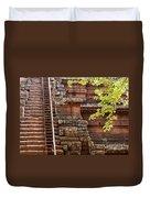 Phimeanakas Temple Steps Duvet Cover