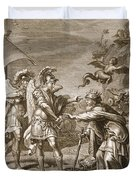 Phineus Is Delivered From The Harpies Duvet Cover