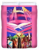 Phish New Years In New York Middle Duvet Cover by Joshua Morton