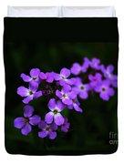 Phlox Blossoms Duvet Cover