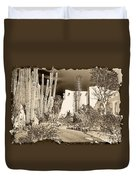 Phoenix Botanical Garden Path Duvet Cover