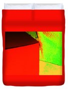 Photo Sketch Abstract 4 - The Paper Series Duvet Cover