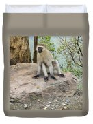 Photogenic Monkey Duvet Cover