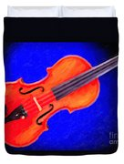 Photograph Of A Complete Viola Violin Painting 3371.02 Duvet Cover