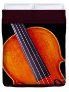 Photograph Of A Upper Body Viola Violin In Color 3369.02 Duvet Cover