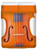 Photograph Of A Viola Violin Middle In Color 3374.02 Duvet Cover
