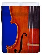 Photograph Of A Viola Violin Side In Color 3372.02 Duvet Cover