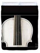 Photograph Or Picture Viola Violin Body In Sepia 3367.03 Duvet Cover