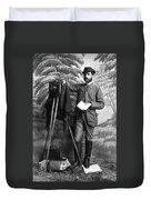 Photographer, 1900 Duvet Cover