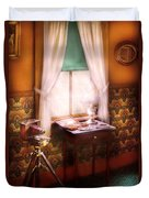 Photography - Creative Pursuits Duvet Cover by Mike Savad