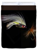 Fly Fishing In Southern Ontario Duvet Cover