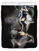 Photonic Totem Duvet Cover