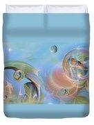 Phun With Quasars Duvet Cover