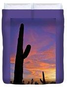 Phx July 2014 Sunsets 3 Duvet Cover