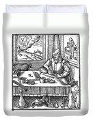Physician, 1576 Duvet Cover