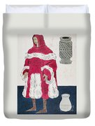 Physician, 15th Century Duvet Cover