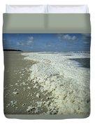 Phytoplankton Bloom On Beach Duvet Cover