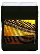 Piano Harp Duvet Cover
