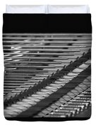 Piano Strings  Waterloo, Quebec, Canada Duvet Cover
