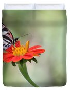 Piano Wings Butterfly Duvet Cover