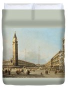 Piazza San Marco Looking South And West Duvet Cover