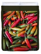 Pick A Peck Of Peppers Duvet Cover