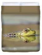 Pickerel Frog Nova Scotia Canada Duvet Cover