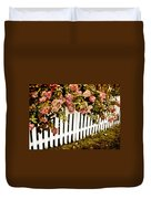 Picket Fence Duvet Cover