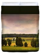 Pickets Charge - Gettysburg - Pennsylvania Duvet Cover