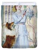 Picking Roses Duvet Cover