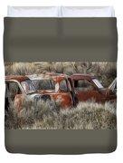 Pickup Cabs 1 Duvet Cover