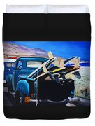 Pickup Truck Duvet Cover