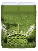 Picnic Basket Duvet Cover