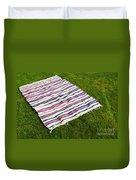 Picnic Blanket Duvet Cover